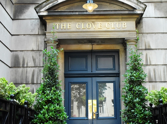 The Clove Club: Entrance