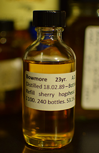 Bowmore 23, 1989, A.D. Rattray