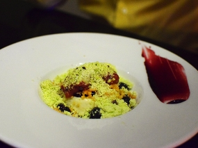 Tongue in Cheek: Triple Cream Pannacotta