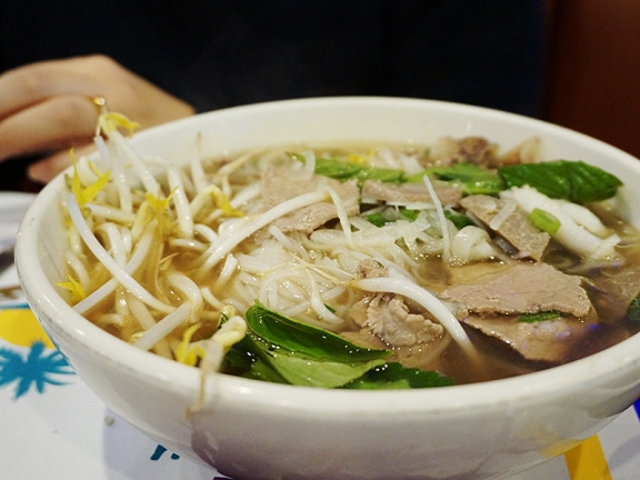 But it can be decent enough; and in the Minnesota fall and winter even a decent bowl of pho can be quite good.