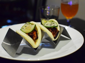 Is it David Chang's fault that Tongue in Cheek is offering steamed pork buns for some reason?