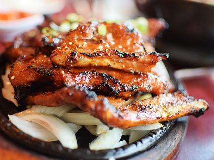 Ham Ji Park: Pork Ribs
