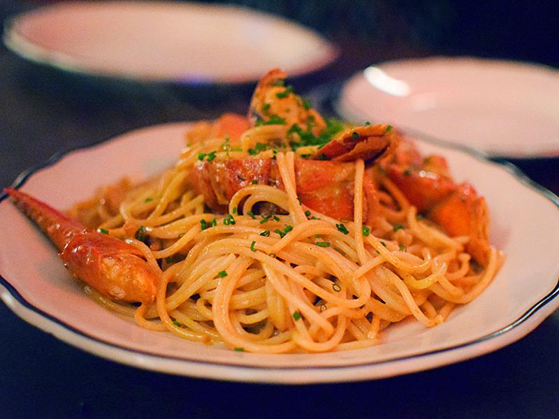 Joe Beef: Spaghetti Homard Lobster