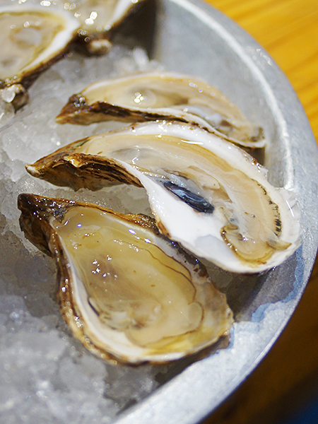 Princess Delights from Prince Edward Island. Also creamy but now we're making the move from mild and sweet to briny. Very good.