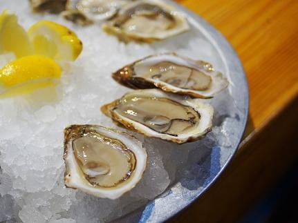 Southwest Sensations; another PEI oyster. Much brinier.
