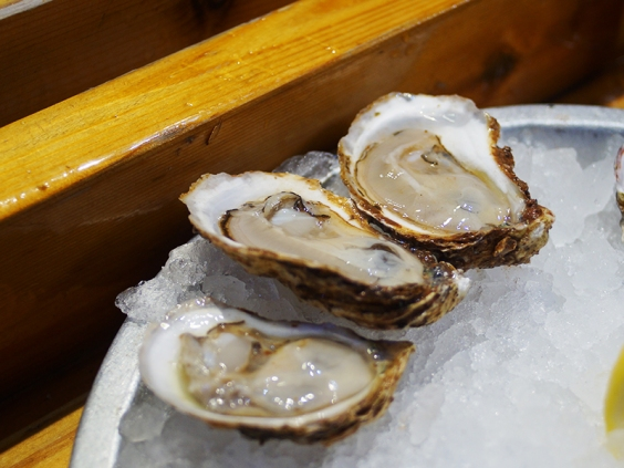 Gooseberry; another PEI oyster, this was probably the briniest of this round.