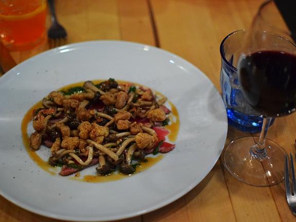 Le Comptoir: Veal Loin Tataki