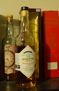 Benromach 1978-1997, Scott's Selection