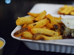 I like thick-cut fries and liked these.