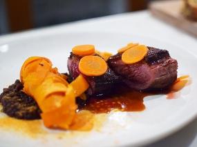 Hotel Herman: Duck, carrots, stout ragout