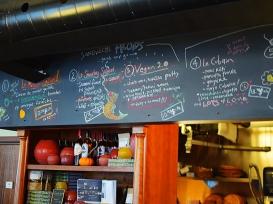 Olive + Gourmando: Sandwich board