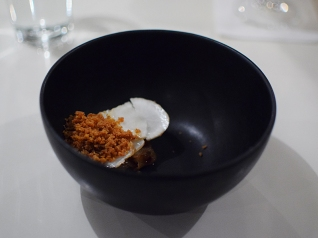 Hotel Herman: Lobster Bisque, sunchoke, chicken skin