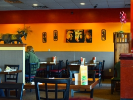 Spice Thai: Interior