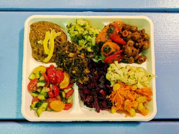 Moroccan Flavours: Salad Platter