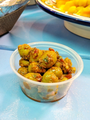 Moroccan Flavours: Spiced Olives