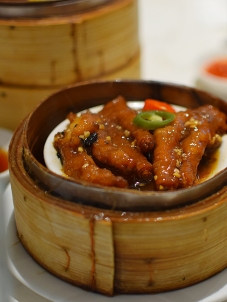 The chicken feet likewise were solid.