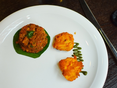 Quilon: Kothu and Almond Chicken