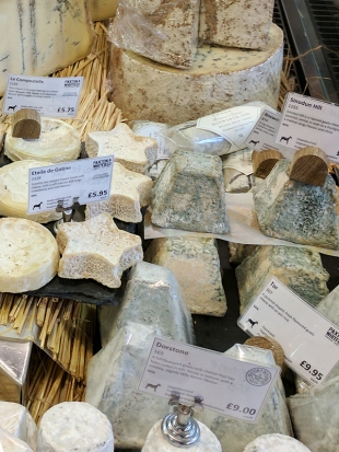 Small-format soft cheeses.