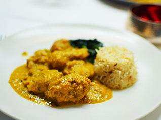 The Cinnamon Club: Chicken curry