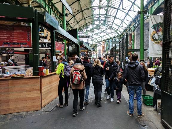 Borough Market: In the market