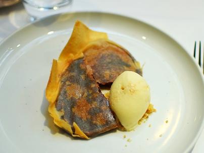 The Cinnamon Club: Date pancake