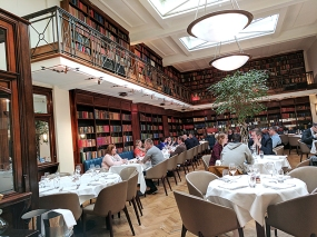 The Cinnamon Club: Dining room