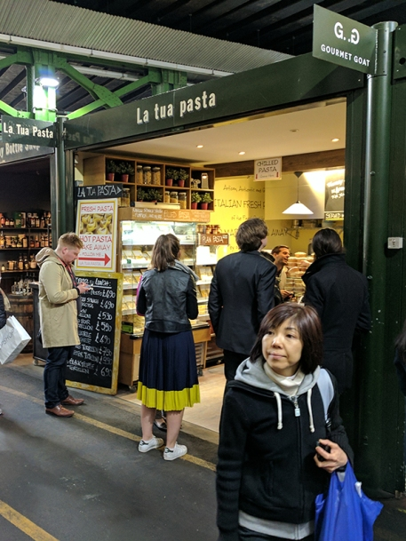 Borough Market: Pasta