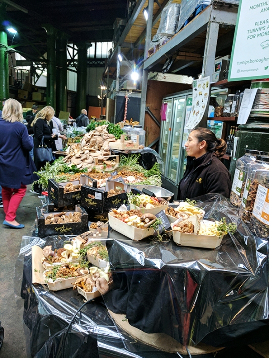 Borough Market: Mushrooms
