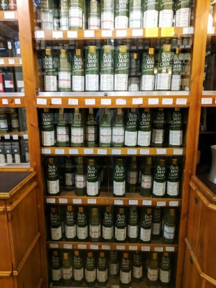 Their indie section features a lot of Old Malt Cask bottles.