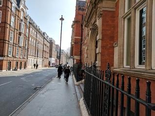 The Cinnamon Club: Street