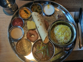 The Chilli Pickle: Thali
