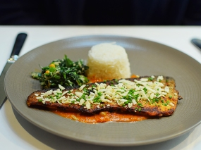 The Cinnamon Club: Trout
