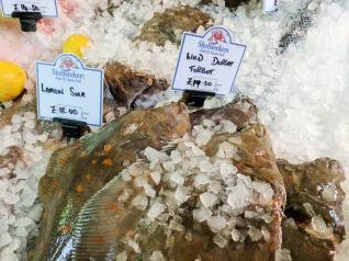 Borough Market: Fish at Shell Seekers