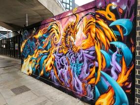 Street Art: Under a bridge
