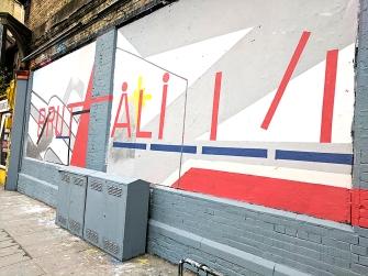 Street Art: On Great Eastern Street.