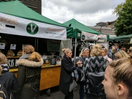 Vegans are also catered to at Borough Market.