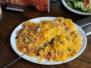 Lahore Kebab House: Meat Biryani