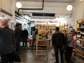 Neal's Yard Dairy, Borough Market: Interior