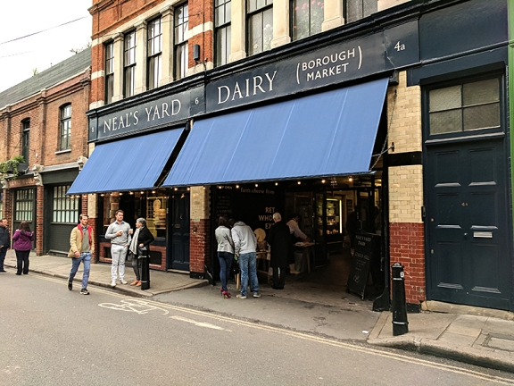 Neal's Yard Dairy, Borough Market