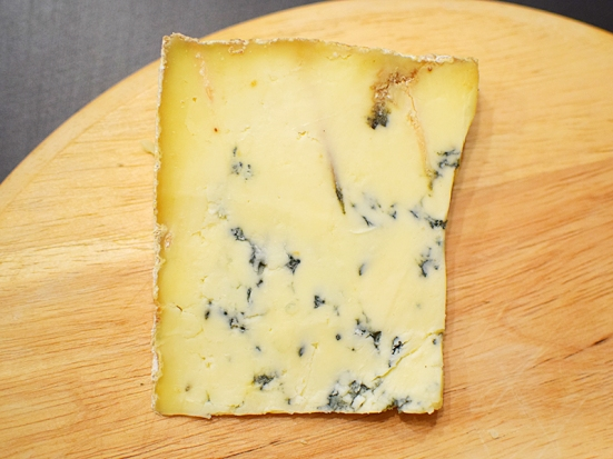 But it's hard to find fault with this majestic Stilton made with pasteurized milk.