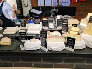 Neal's Yard Dairy, Covent Garden: Various Goat and Sheep's Milk Cheeses