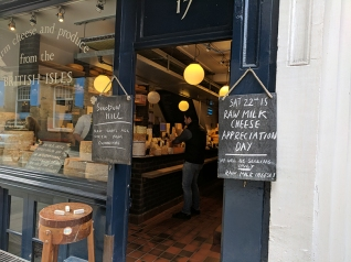 Neal's Yard Dairy, Covent Garden: Raw Milk Cheese Appreciation Day