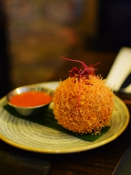 Gunpowder: Spicy Venison and Vermicelli Doughnut