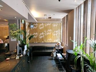 A very nice reception area.