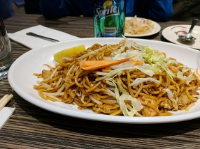 Their mee goreng is also quite good.