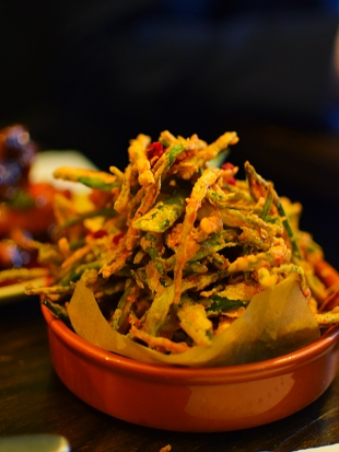 Gunpowder: Porzhi Okra Fries