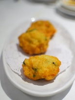 Another deep-fried prawn cake thingy. A little anonymous.