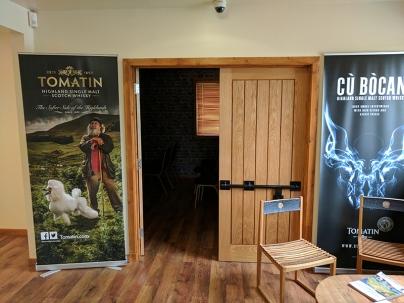 Tomatin: Film room