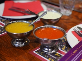 Tayyabs: Chutneys