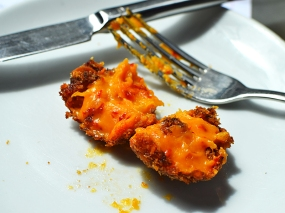 Barrafina, Soho: Insides of the croquetas